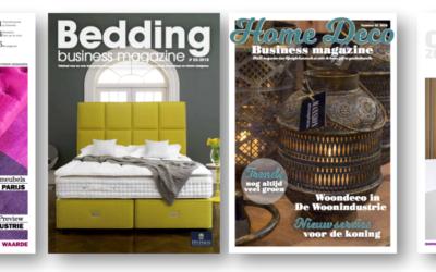 Business Content Media lanceert vier nieuwe vaktitels voor de woonbranche